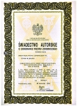 Certificate of authorship no. 9957